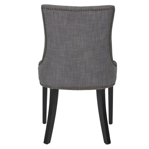 Product Image - Charlotte Fabric Dining Side Chair Black Legs, Shark