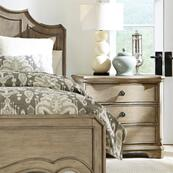 Corinne - Three Drawer Nightstand - Sun-drenched Acacia Finish