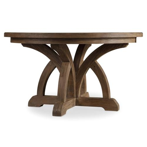 Product Image - Corsica Round Dining Table w/1-18in Leaf