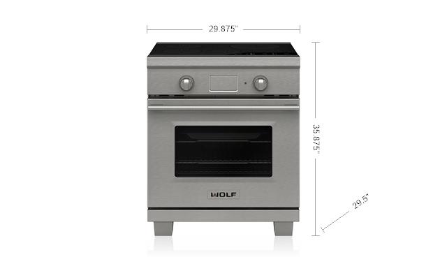 """WolfLegacy Model - 30"""" Transitional Induction Range"""