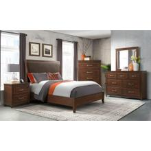 CAL KING 4PC GROUP (D/M/BED/NS) -