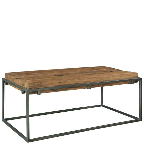 Riverside - Maverick - Rectangular Coffee Table - Rustic Saal Finish