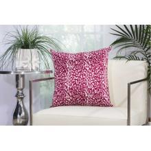 """Outdoor Pillows As524 Lilac 20"""" X 20"""" Throw Pillow"""