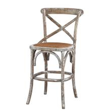 See Details - Bennett X-back Stool 24'' (washed White)