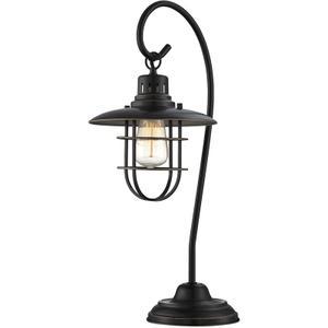 Table Lamp, D.BRZ/METAL Lantern,e27 Vintage Bulb 60w(lu-60v