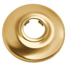 brushed gold shower arm flange