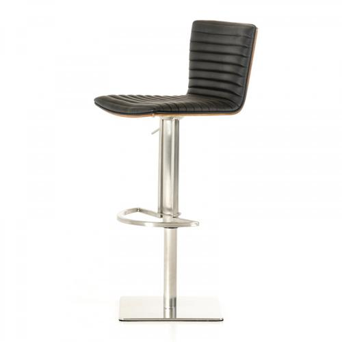 Modrest Dawn Modern Black Bar Stool