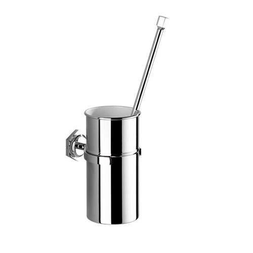 Wall Mounted Wc Brush and Metal Holder