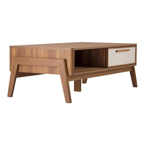 Heaton KD Coffee Table, Walnut (ASSEMBLY REQUIRED)