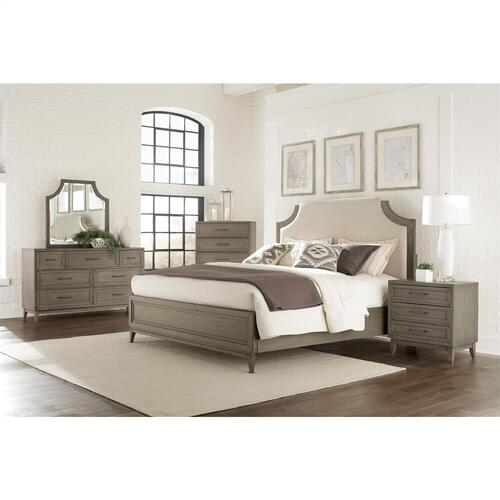 Vogue - Queen/king Bed Rails - Gray Wash Finish