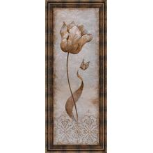 """See Details - """"Tulip & Butterfly I"""" By Nan Framed Print Wall Art"""
