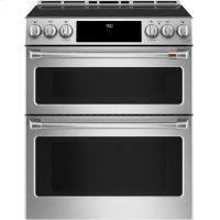 "30"" Smart Slide-In, Front-Control, Induction and Convection Double-Oven Range"