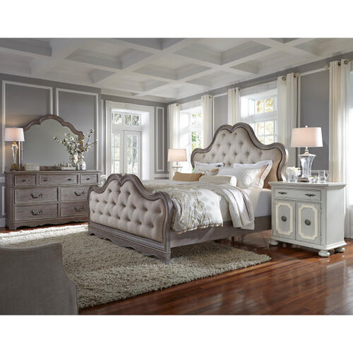 Simply Charming King / Cal King Tufted Upholstered Headboard