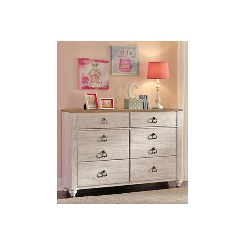 Willowton Dresser Whitewash