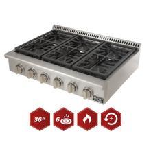 Larger Range Top for Larger Kitchens!