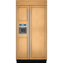 """See Details - 42""""(w) Built-In Side-By-Side Refrigerator with Dispenser Refrigeration Jenn-Air"""