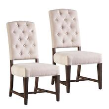 See Details - Paisley Court 2-Pack Upholstered Side Chairs, Sand