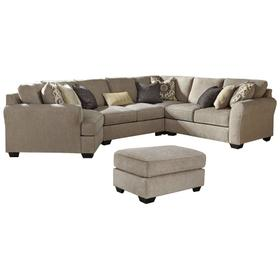 4-piece Sectional With Ottoman