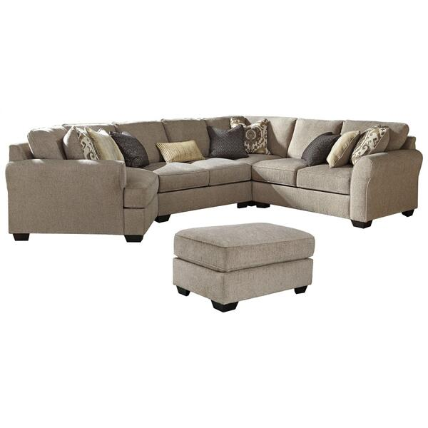 See Details - 4-piece Sectional With Ottoman
