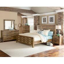 6 PC Bedroom - Queen Bed, Dresser, Mirror, Chest