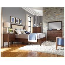 Meridian Queen Bed Molasses - Complete