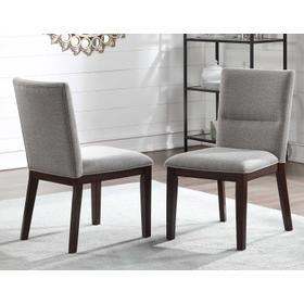 Amalie Side Chair, Camel Linen