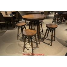 View Product - Adjustable Height Pub Table
