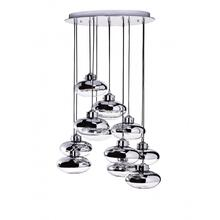 Modern Globes- 12 Light Chandelier