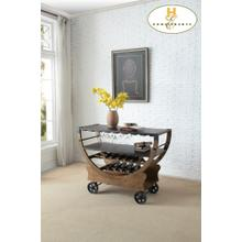 View Product - Kitchen Cart with Functional Wheels