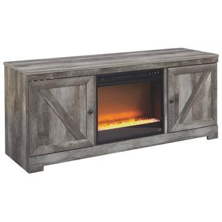 """See Details - Wynnlow 63"""" TV Stand With Electric Fireplace"""
