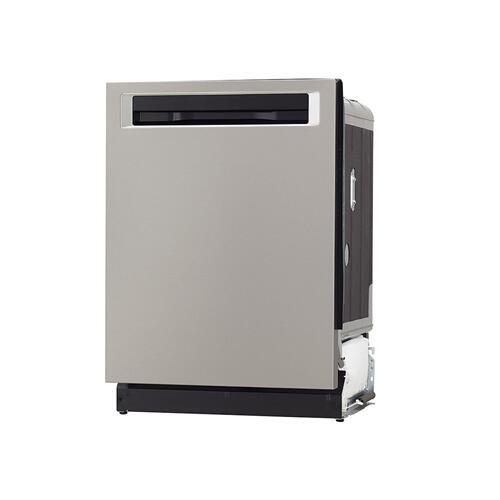 44 DBA Dishwashers with Clean Water Wash System and PrintShield™ Finish, Pocket Handle - Stainless Steel with PrintShield™ Finish