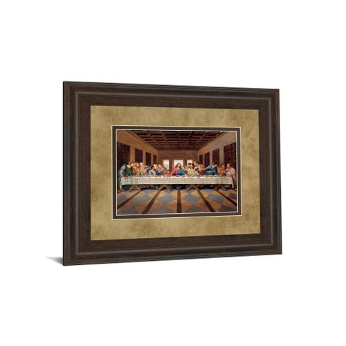 """Product Image - """"Last Supper"""" Framed Print Wall Art"""