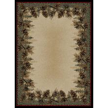 See Details - Mount Le Conte Pine Cone Area Rug