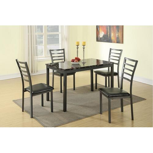 F2368 In By Updated Furniture In Carrollton Tx Talia 5 Pcs Dining Set
