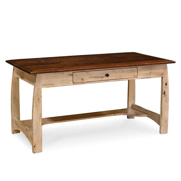 """See Details - Aspen Writing Desk with Inlay, Small - 54""""w x 30""""d x 30""""h"""