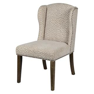 See Details - Savannah Dining Chair (snow Leopard)
