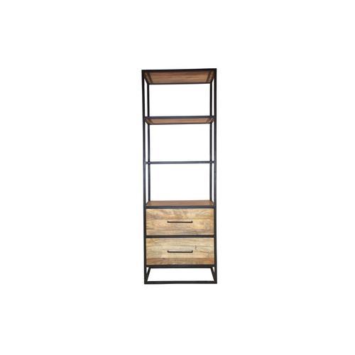 Porter International Designs - Delancy 2 Drawer Bookshelf, ART-3264