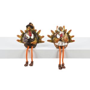 Turkey Shelfsitters (6 pc. ppk.)