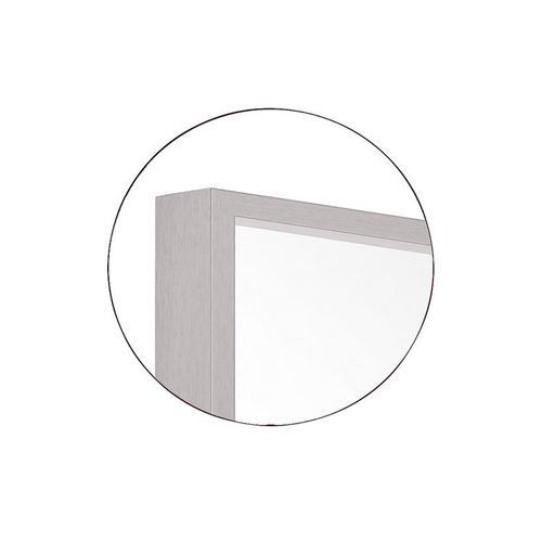 Kit Rectangular Mirror Matte White