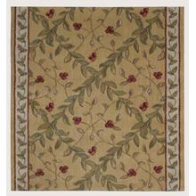"Ashton House Regal Vine A02r Gold 36"" Runner"