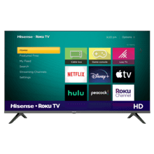 "32"" Class - H4030 Series - HD Hisense Roku TV (2020)"