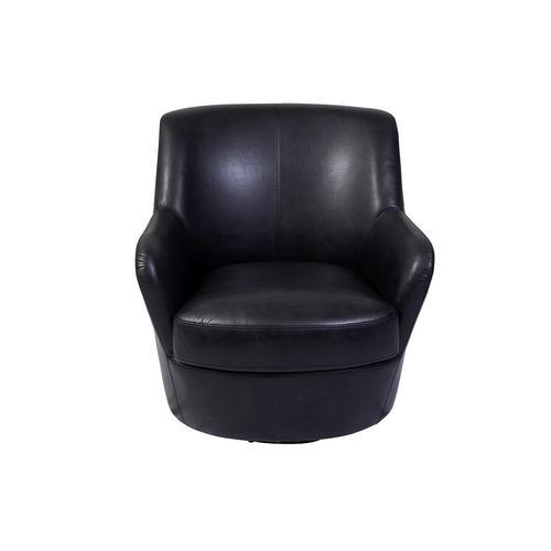 Porter International Designs - Hayes Dark Gray Swivel Chair, AC963