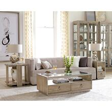 View Product - Sophie - Rectangular Coffee Table - Natural Finish