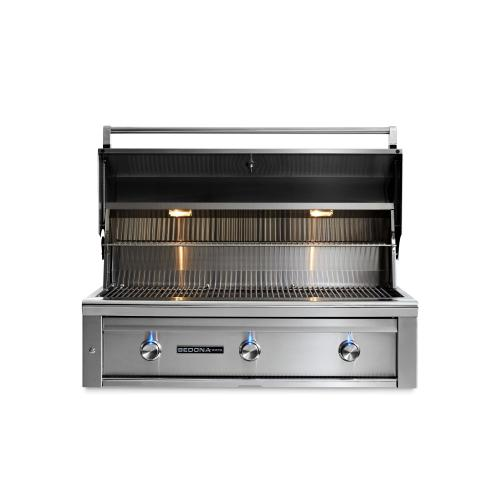 "42"" Sedona by Lynx Built In Grill with 3 Stainless Steel Burners, LP"