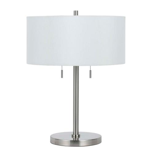 60W X 2 Calais Metal Table Lamp