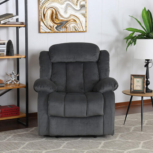 Product Image - Reclining Chair in Charcoal - SU-ZY550 Madison