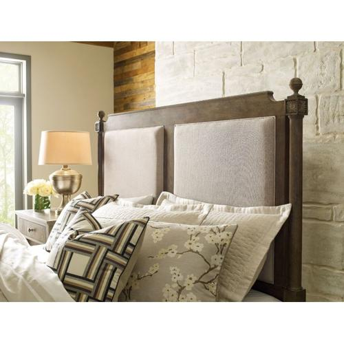 Sunderland King Upholstered Bed - Complete