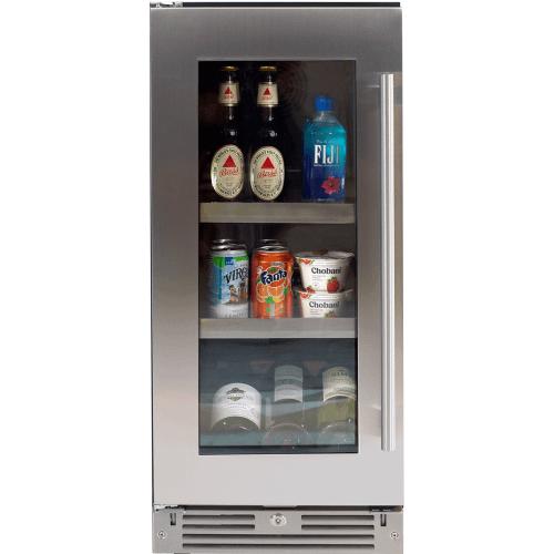 XO Appliance - 15in Beverage Center SS Glass LH