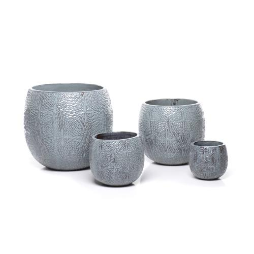 Alfama Round Planter - Set of 4