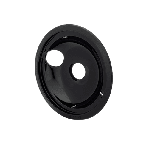 Frigidaire - Smart Choice 8'' Black Porcelain Drip Bowl
